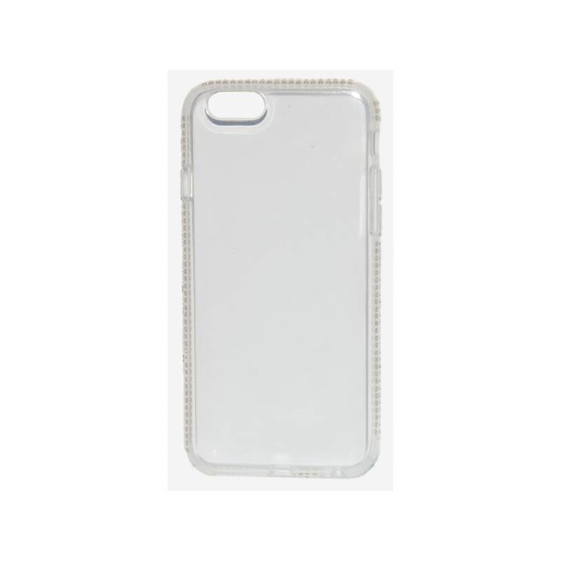 Kryt na mobil Beeyo Diamond Frame pro Apple iPhone 6/6s (BEAAPIP6TPUFRWH) biely