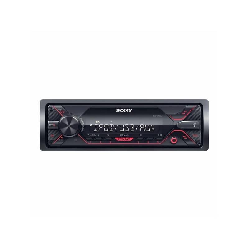 Autorádio Sony DSX-A210UI čierne
