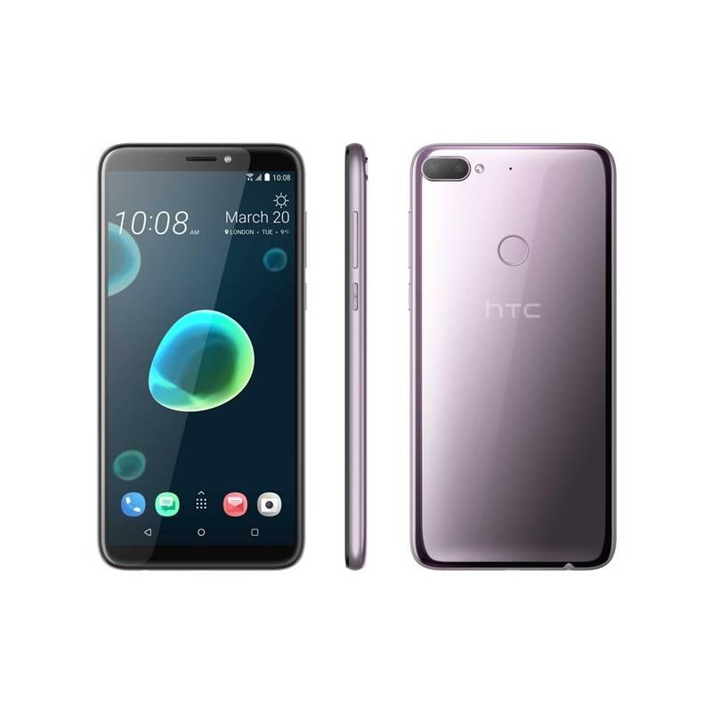 Mobilný telefón HTC Desire 12+ Dual SIM (99HAPF009-00) strieborný/fialový Software F-Secure SAFE, 3 zařízení / 6 měsíců (zdarma) + Doprava zadarmo