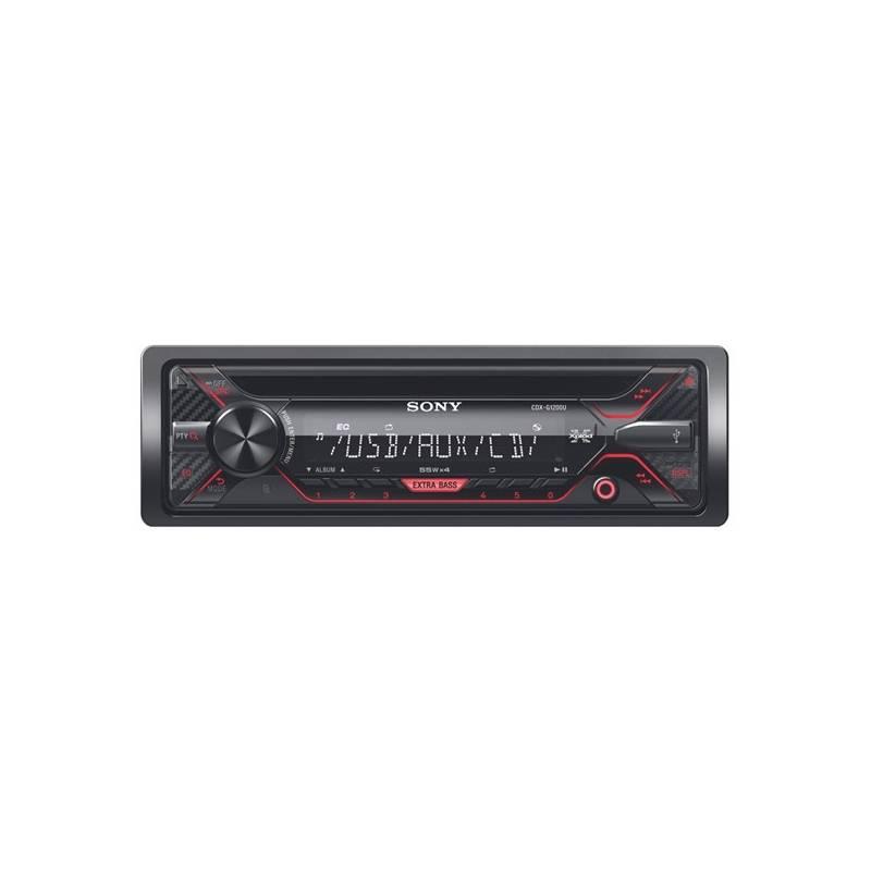 Autorádio s CD Sony CDX-G1200U čierne