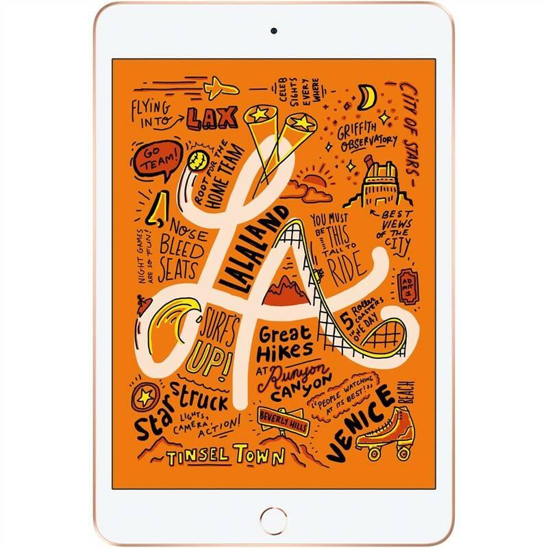 Tablet Apple iPad mini (2019) Wi-Fi 256 GB - Gold (MUU62FD/A)