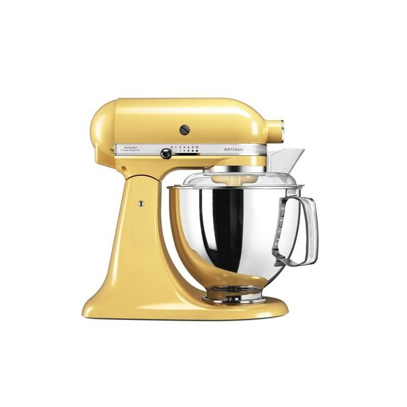 Kuchynský robot KitchenAid Artisan 5KSM175PSEMY žltý