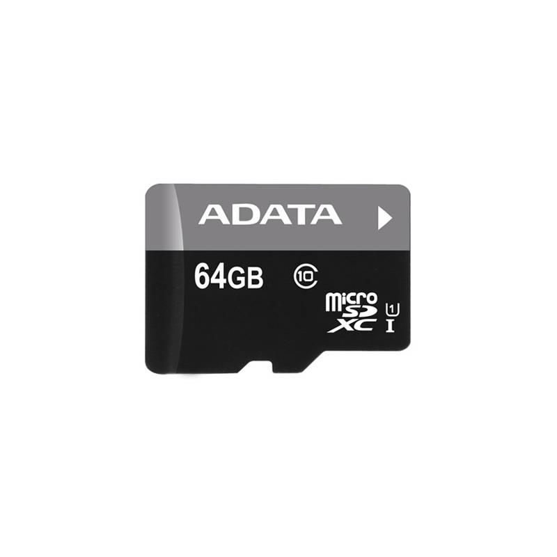 Pamäťová karta ADATA 64GB Class 10 UHS-U1 (50R/10W) + čtečka MicroReader Ver.3 (AUSDX64GUICL10-RM3BKBL) čierna