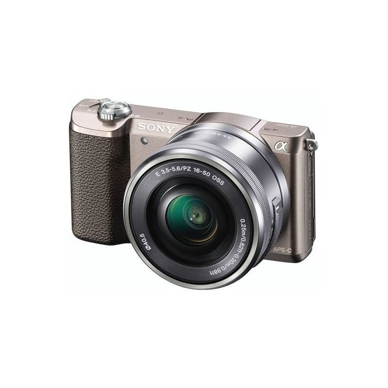 Digitálny fotoaparát Sony Alpha Alpha 5100;16-50mm hnedý + Doprava zadarmo