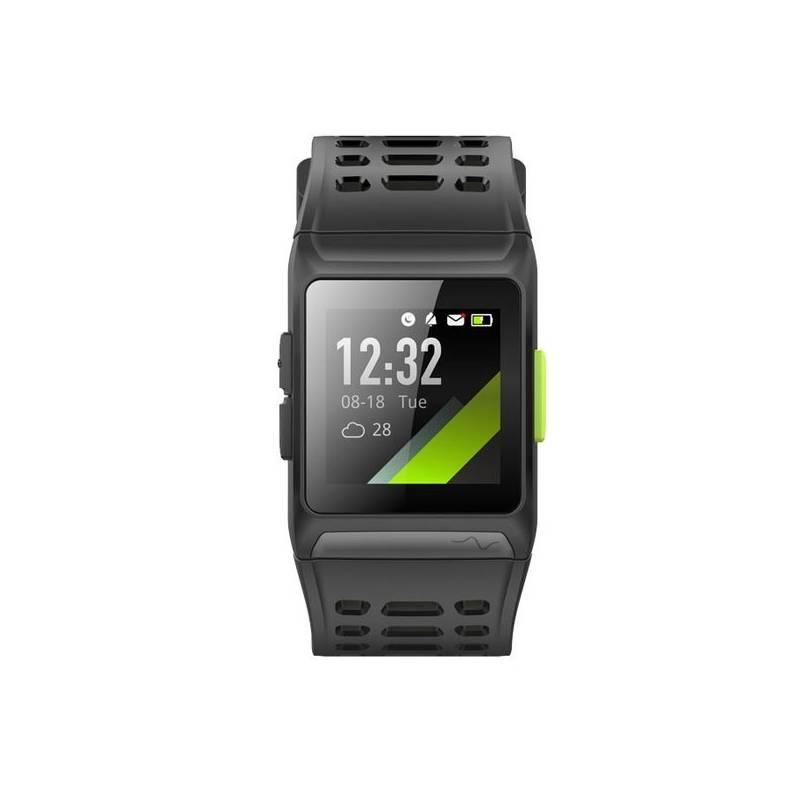 Fitness náramek Umax U-Band P1 GPS (UB511) černý