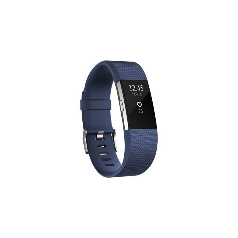 Fitness náramok Fitbit Charge 2 small - Blue Silver (FB407SBUS-EU)