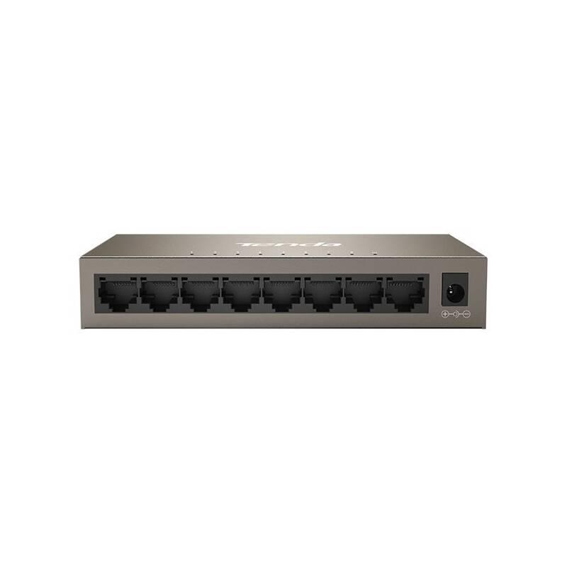 Switch Tenda TEG1008M sivý