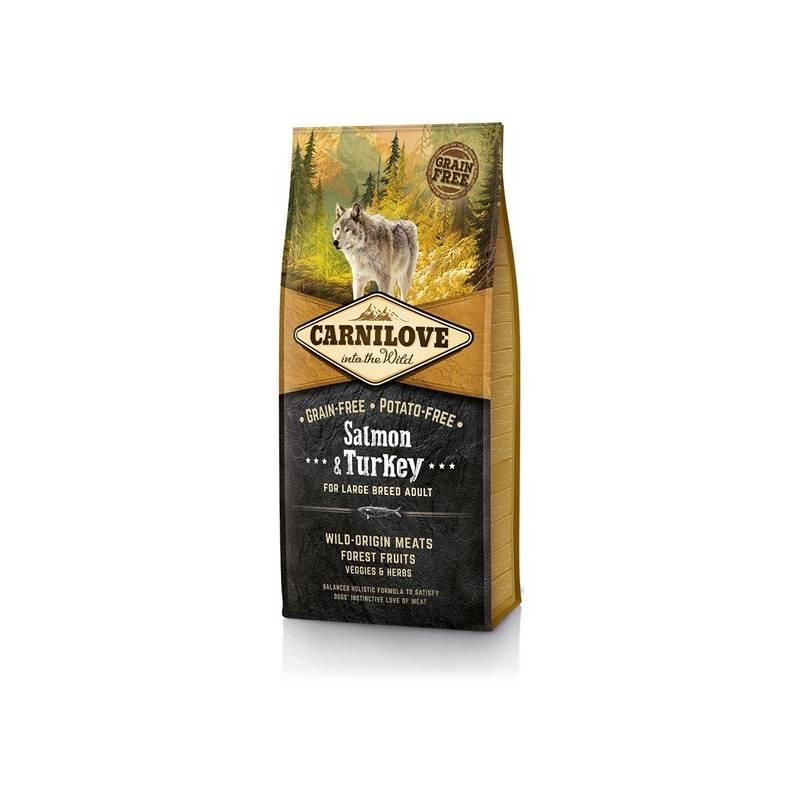 Granule Brit Carnilove Salmon & Turkey for Large Breed Adult 12 kg Antiparazitní obojek Scalibor Protectorband pro psy - 48 cm