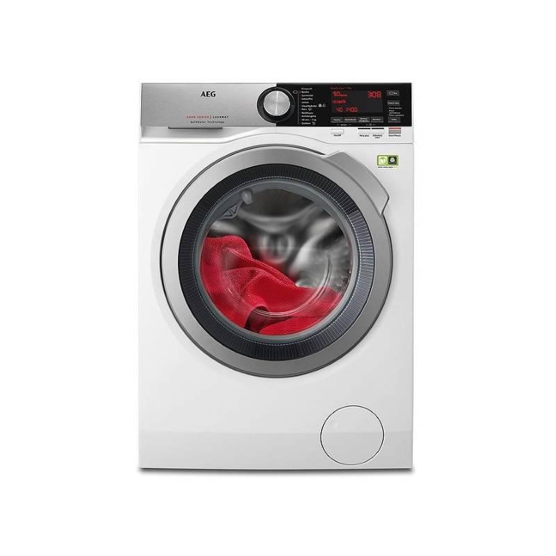 Automatická práčka AEG L9FEC49SC biela + Doprava zadarmo