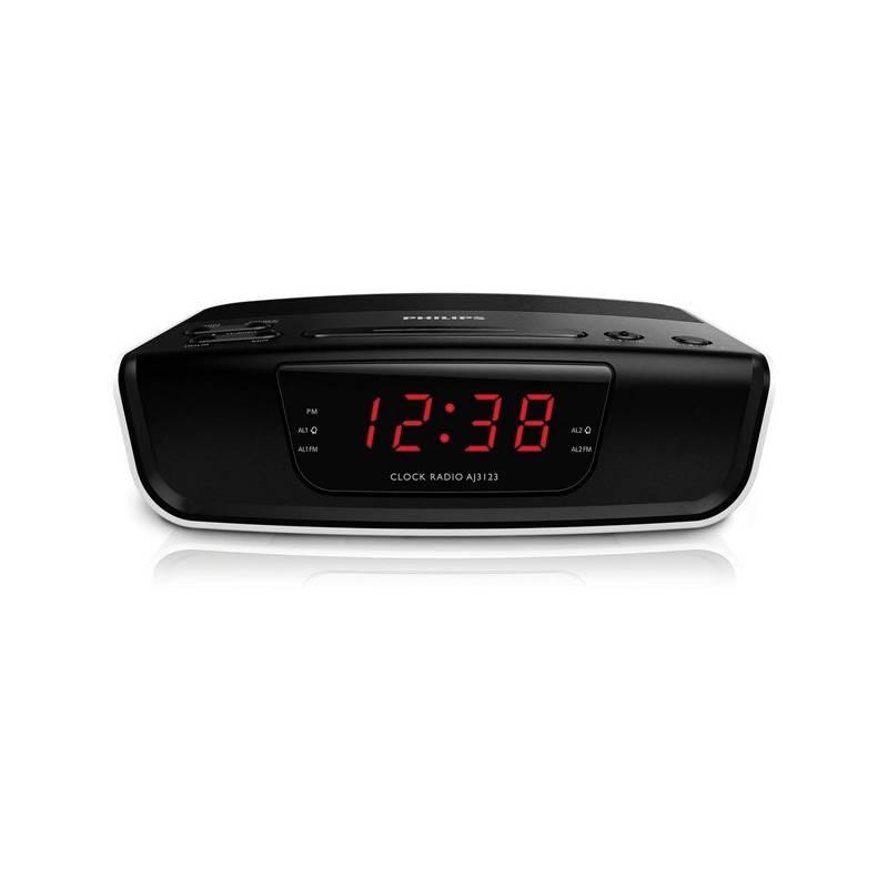 Rádiobudík Philips AJ3123 čierny