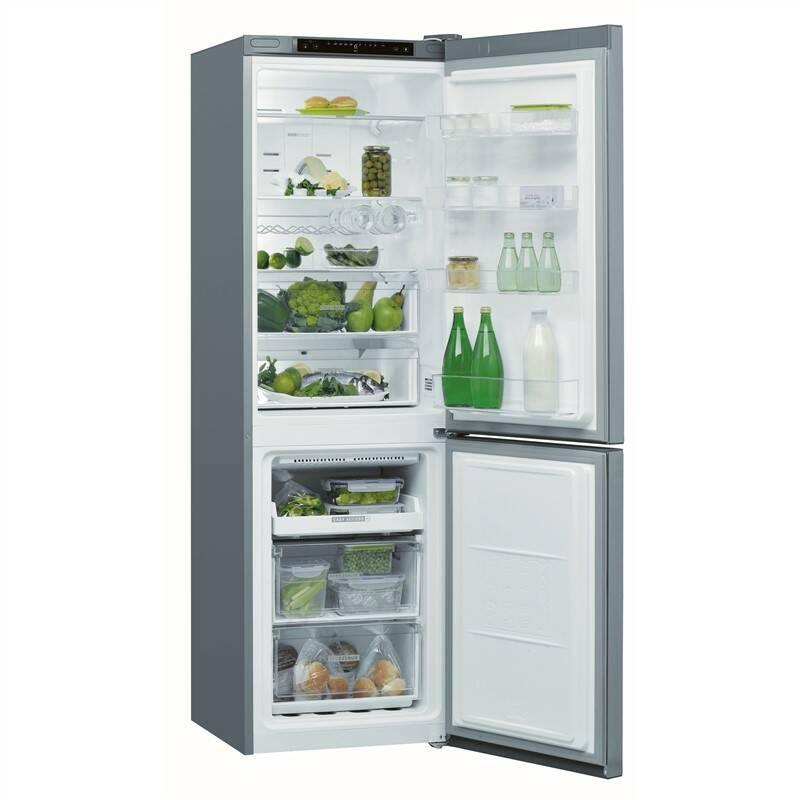 Kombinácia chladničky s mrazničkou Whirlpool W Collection W7 831A OX nerez + Cashback 30 € + Doprava zadarmo