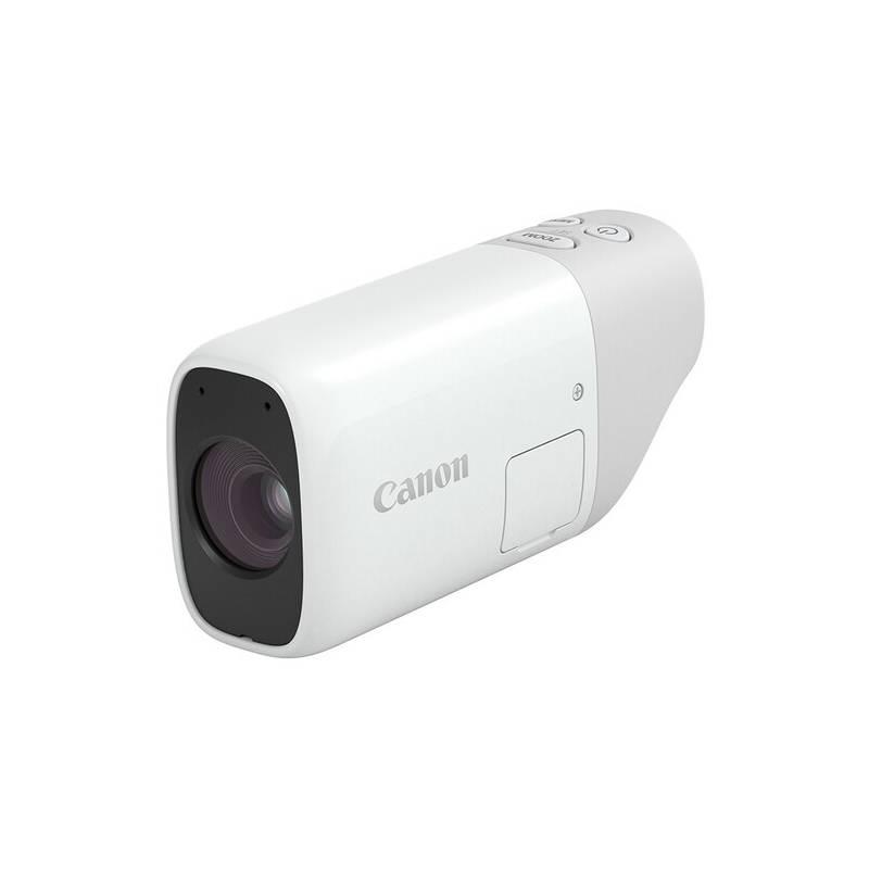 Digitálny fotoaparát Canon PowerShot ZOOM sivý/biely + Doprava zadarmo