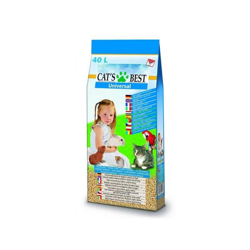 Podstielky Cats Best Universal 40L/22 kg