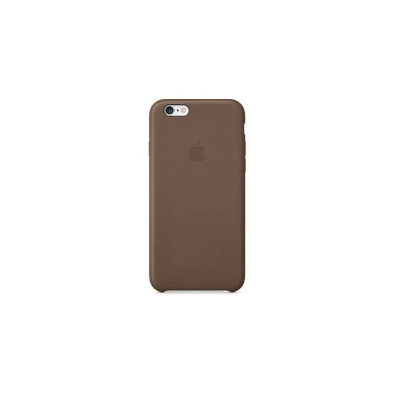 uk availability 2e364 8f0c3 Kryt na mobil Apple iPhone 6 Leather Case Olive Brown (MGR22ZM/A ...