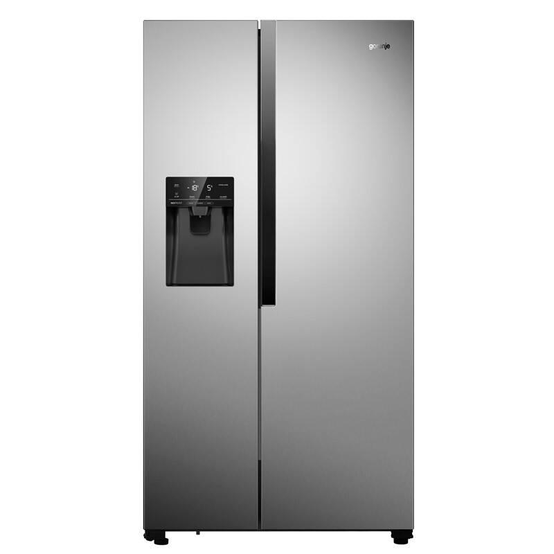 Americká lednice Gorenje NRS9182VX Inoxlook