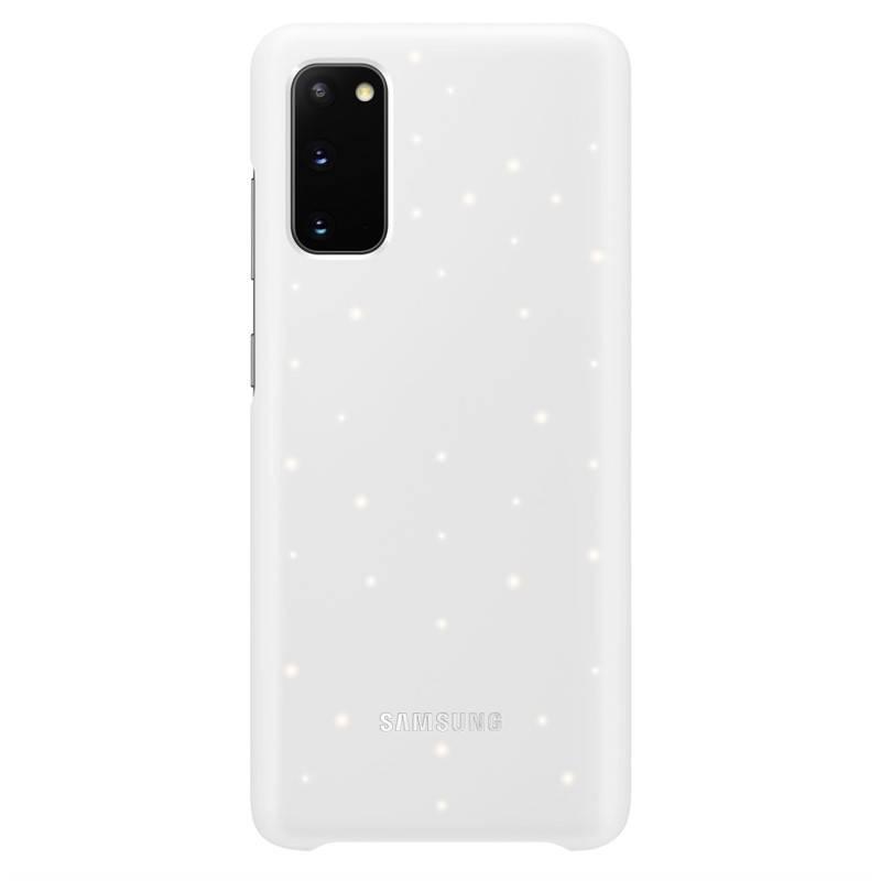 Kryt na mobil Samsung LED Cover na Galaxy S20 (EF-KG980CWEGEU) biely + Doprava zadarmo