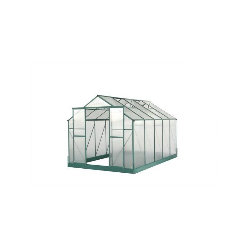Skleník Lanitplast Plugin 8x12 zelený + Doprava zadarmo