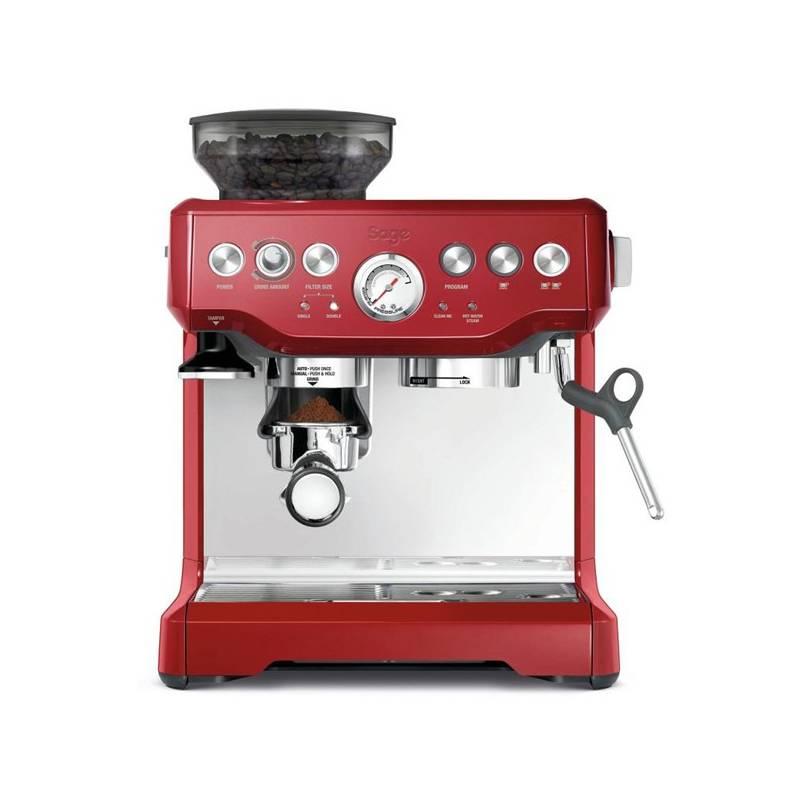 Espresso SAGE BES870 červené + Doprava zadarmo