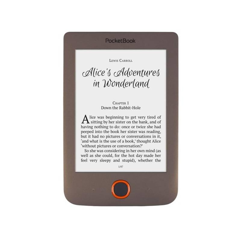 Čítačka kníh Pocket Book 615 Basic Lux (PB615W-X-WW) hnedá
