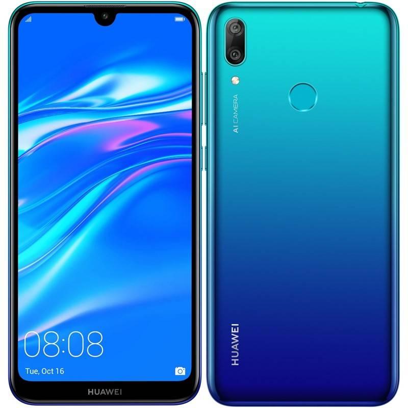 Mobilný telefón Huawei Y7 2019 Dual SIM (SP-Y719DSLOM) modrý + Extra zľava 3 % | kód 3HOR2026