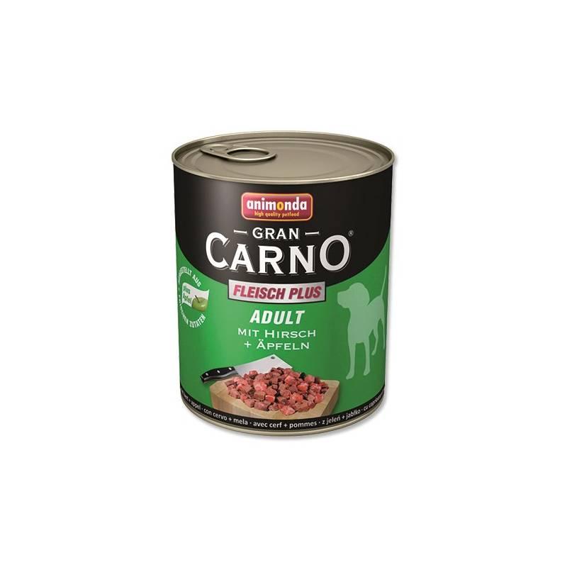 Konzerva Animonda Adult Gran Carno jelení maso + jablka 800g