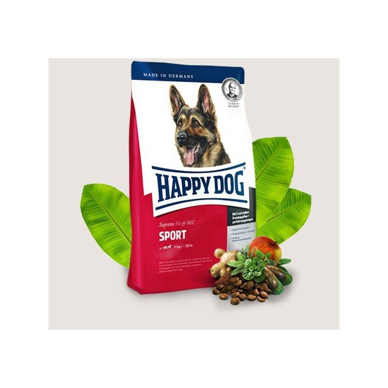Granule HAPPY DOG ADULT Sport 15 kg