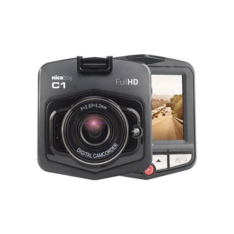 Autokamera Niceboy C1 čierna