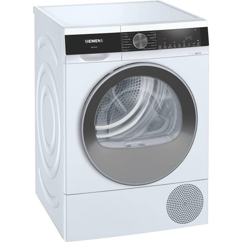 Sušička bielizne Siemens iQ500 WQ33G2A0CS biela + Doprava zadarmo