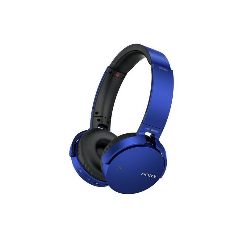 Slúchadlá Sony MDR-XB650BT (MDRXB650BTL.CE7) modrá