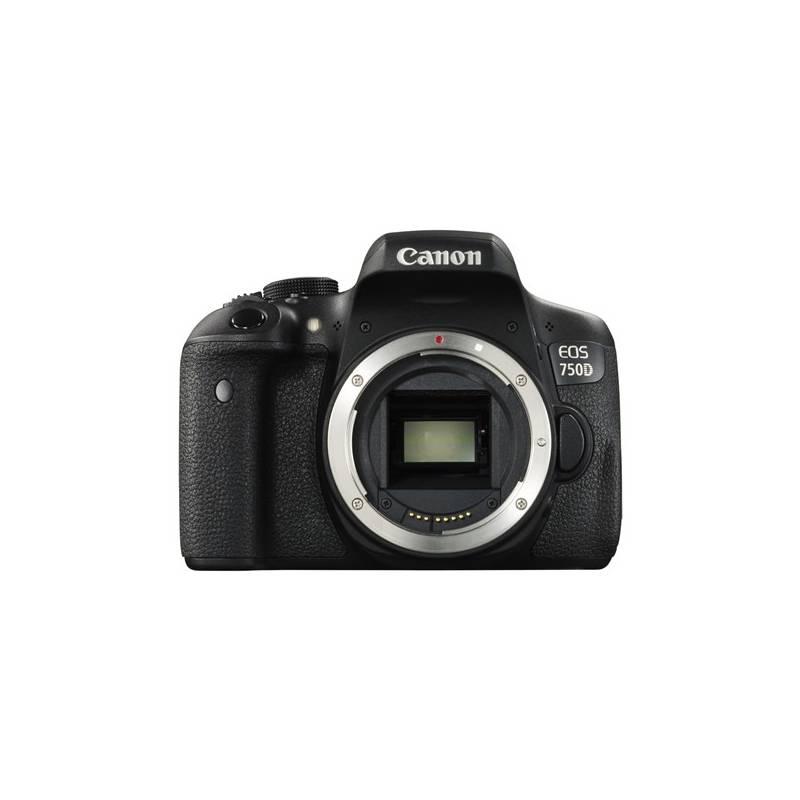 Digitálny fotoaparát Canon EOS 750D tělo (0592C018) čierny + Cashback 50 € + Doprava zadarmo