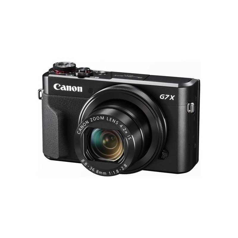 Digitálny fotoaparát Canon PowerShot G7X Mark II (1066C002) čierny + Cashback 30 € + Doprava zadarmo