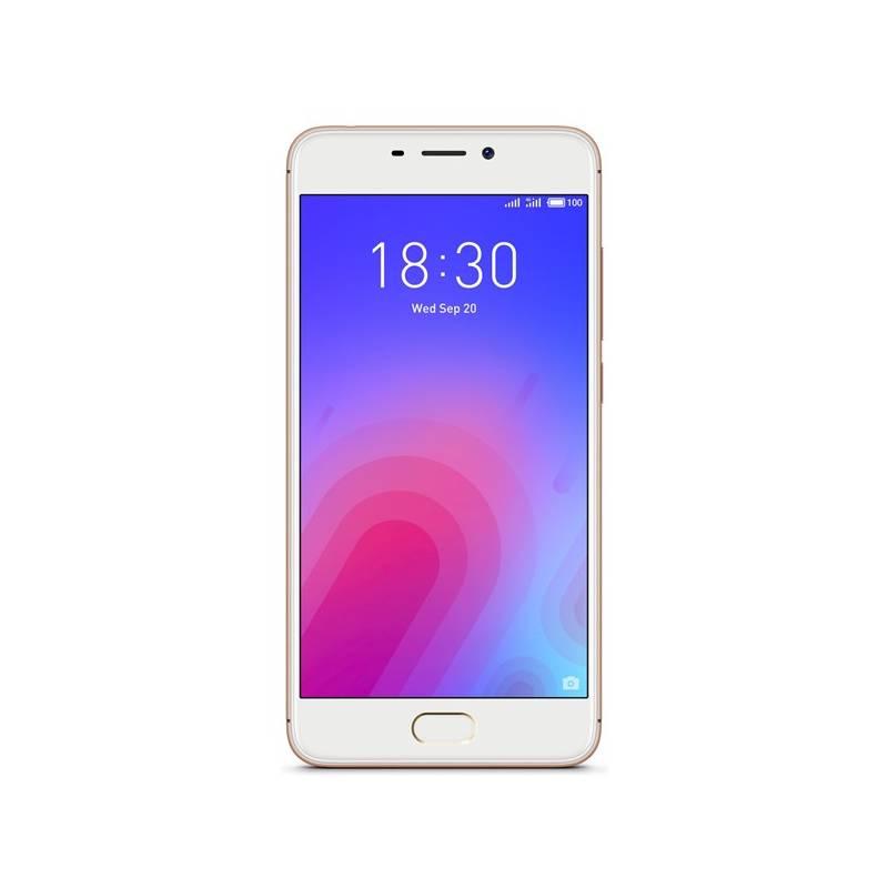 Mobilný telefón Meizu M6 (M711H/32GB/Gold) zlatý Software F-Secure SAFE, 3 zařízení / 6 měsíců (zdarma) + Doprava zadarmo