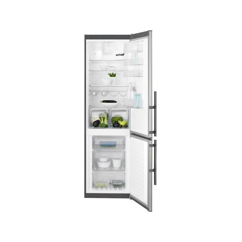 Kombinácia chladničky s mrazničkou Electrolux EN3853MOX nerez + Doprava zadarmo