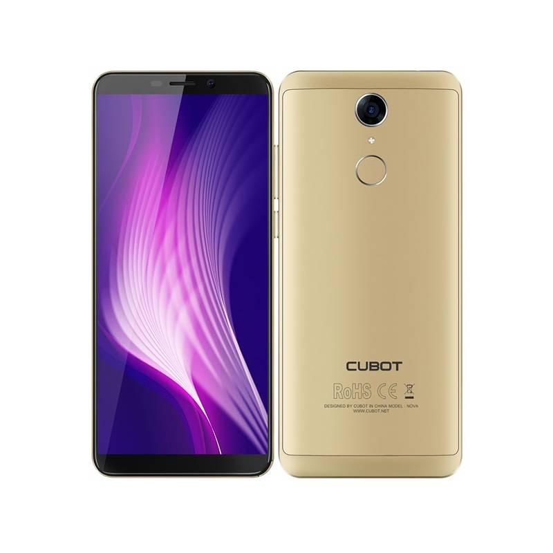 Mobilný telefón CUBOT Nova Dual SIM (PH3910) zlatý