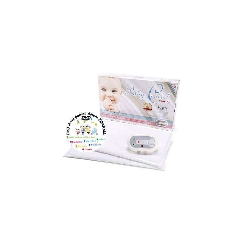 Monitor dychu Baby Control pro dvojčata Digital BC-220i biela