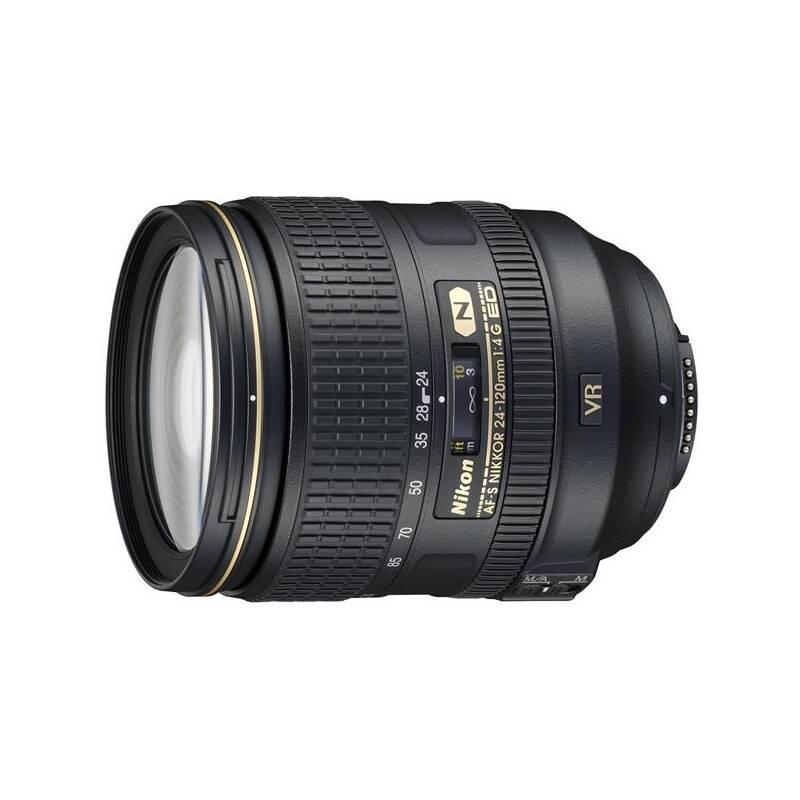 Objektív Nikon NIKKOR 24-120 mm F4G ED AF-S VR čierny + Doprava zadarmo