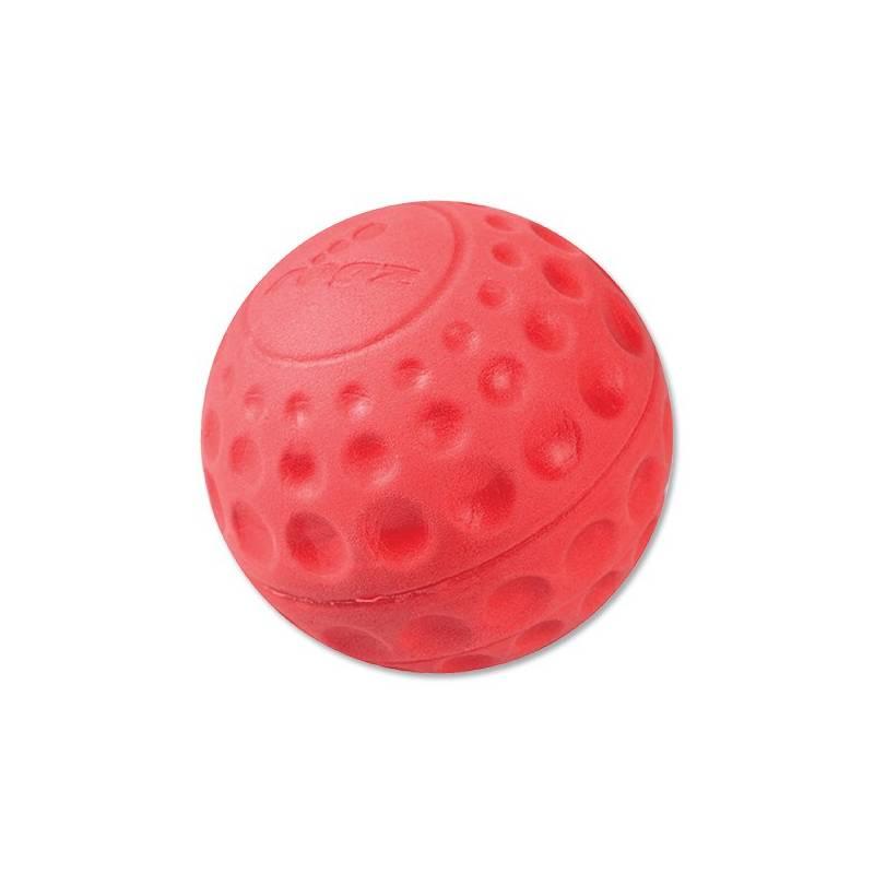 Hračka Rogz Asteroid míček 7,8cm červená