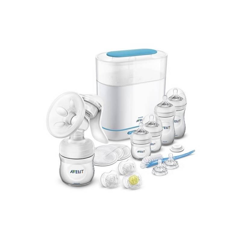 Odsávačka materského mlieka Philips AVENT + elektrický parní serilizátor 3v1