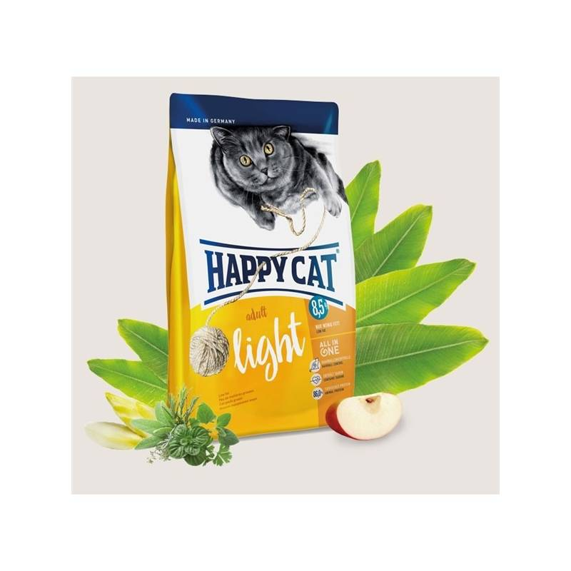 Granule HAPPY CAT ADULT Light - Lehká výživa 4 kg