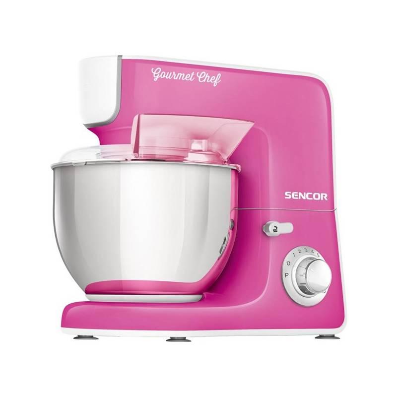 Kuchynský robot Sencor STM 3778RS ružový