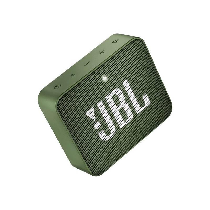 Prenosný reproduktor JBL GO 2 zelený