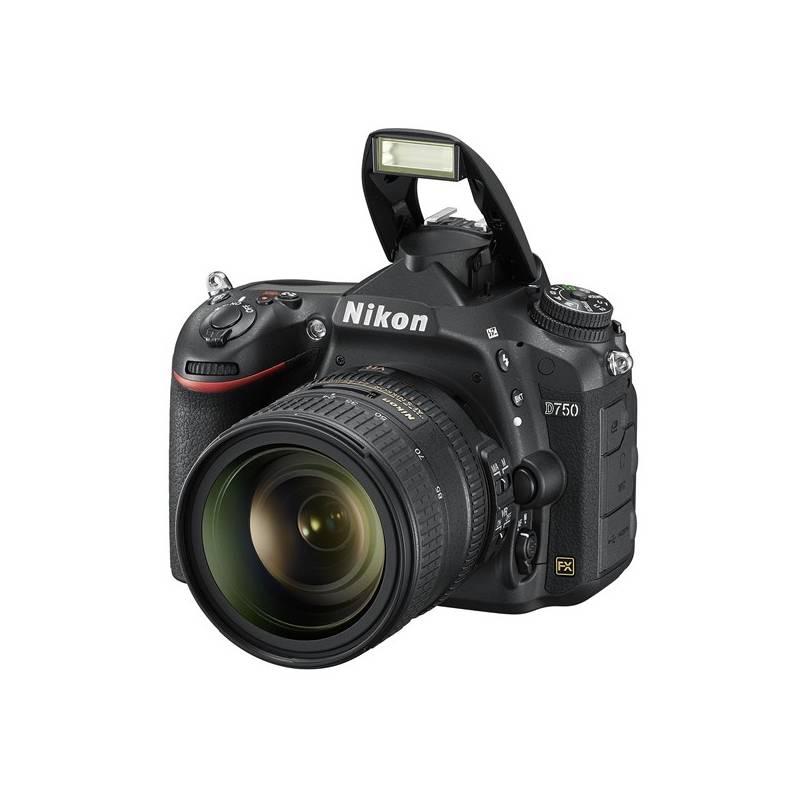 Digitální fotoaparát Nikon D750 + 24-85 AF-S ED VR černý