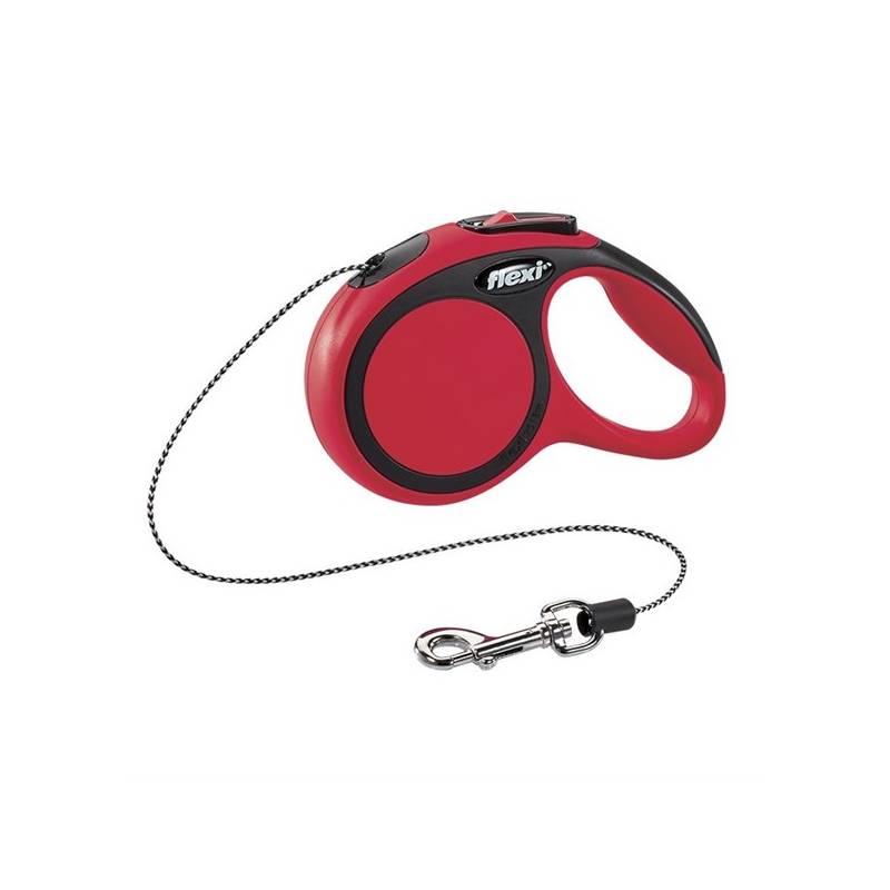 Vodítko Flexi Comfort XS Lanko 3m/8kg červené