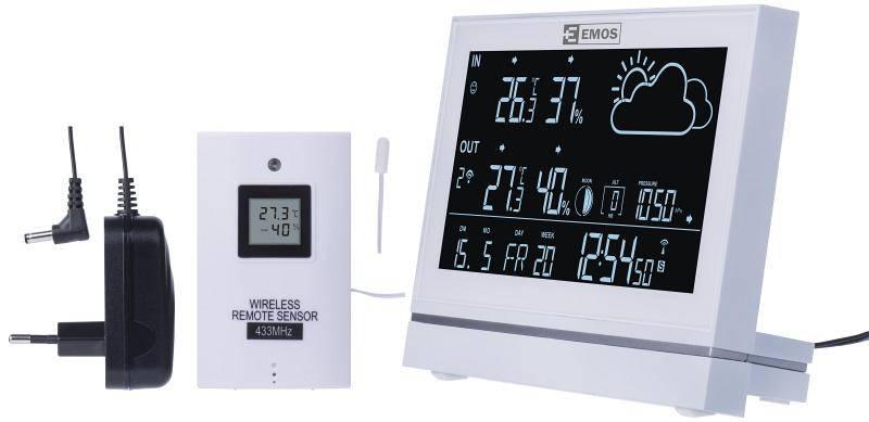 Meteorologická stanica EMOS E5005 (2606155000) biela