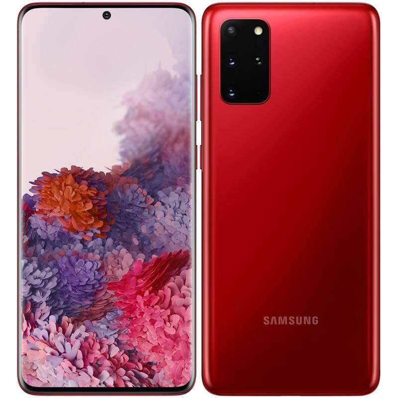 Mobilný telefón Samsung Galaxy S20+ (SM-G985FZRDEUE) červený