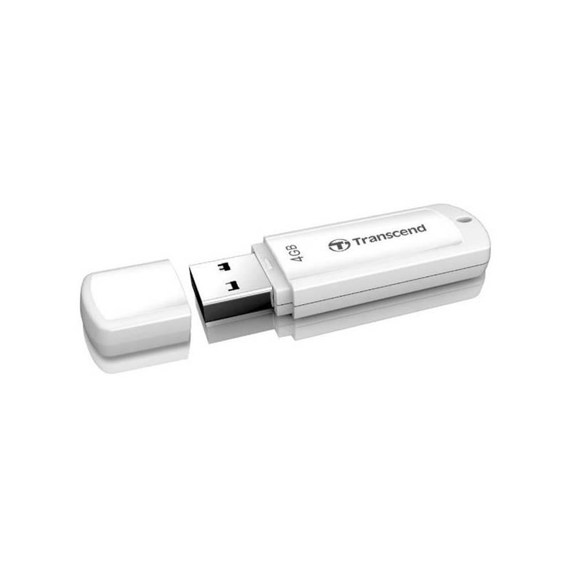 USB flash disk Transcend JetFlash 370 4GB (TS4GJF370) biely