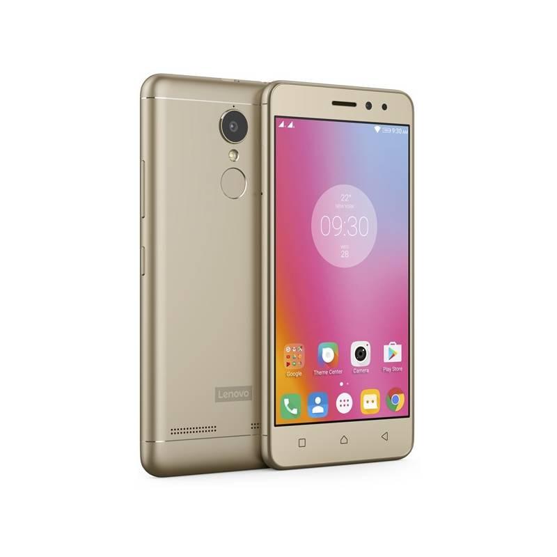 Mobilný telefón Lenovo K6 Power Dual SIM (PA5E0059CZ) zlatý Software F-Secure SAFE, 3 zařízení / 6 měsíců (zdarma)