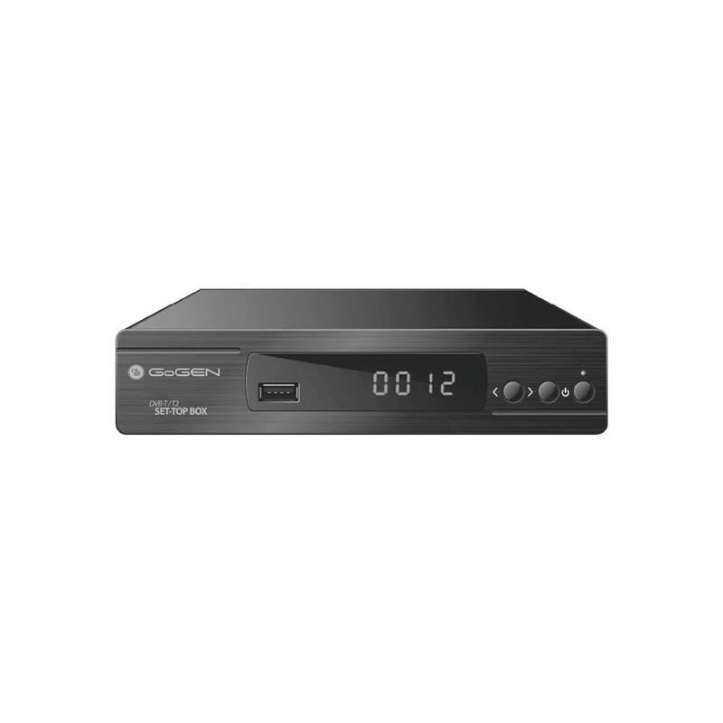 DVB-T2 prijímač GoGEN DVB168T2PVR čierny