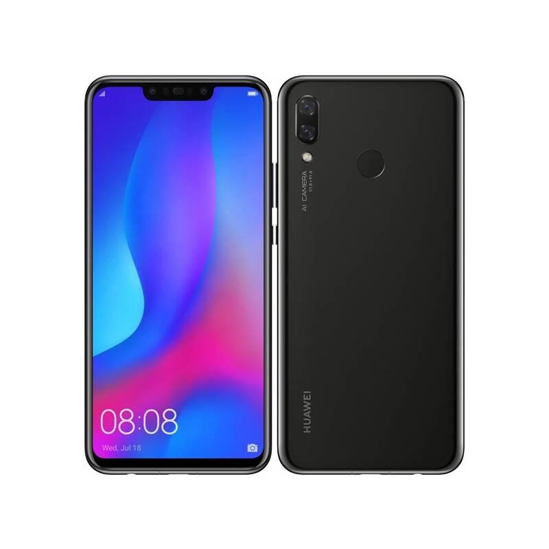 Mobilní telefon Huawei nova 3 (SP-NOVA3BOM) černý