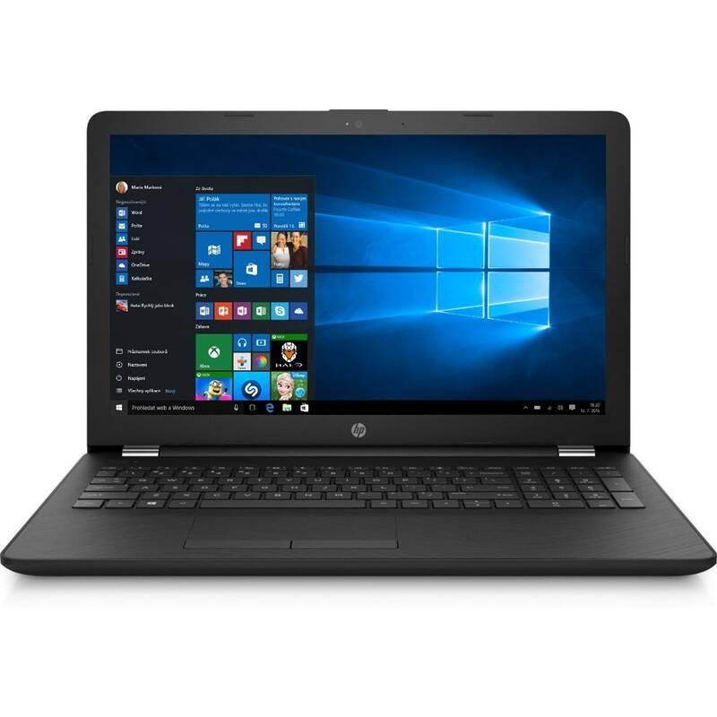 Notebook HP 15-bs160nc (3RQ38EA#BCM) černý